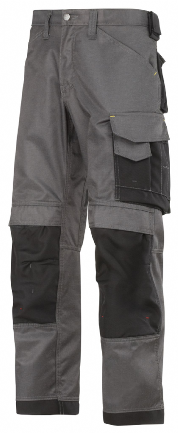 Snickers 3312 DuraTwill Craftsmen Trousers ( Muted Black/Black)